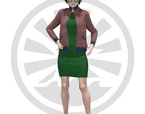 3D model Kristila Ivette