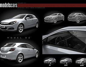 Car Opel Astra Iii 3D model