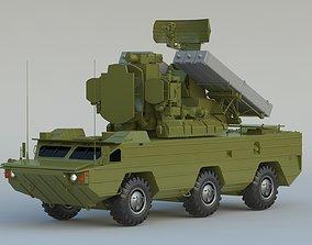 9K33 Osa SA-8 Gecko 3D model