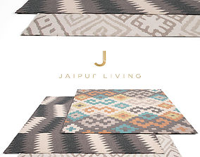 Jaipur Living Rug Set 7 3D model