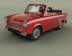 3D model Trabant 601 Cabriolet