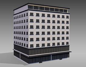 3D model Commercial Building 002