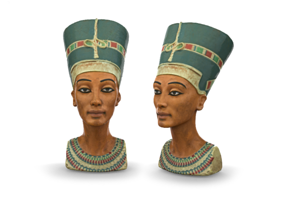 Cleopatra Ready for 3D printing
