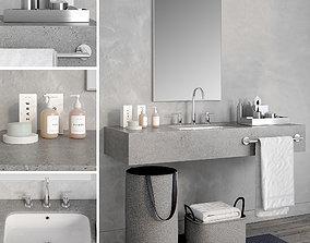 Bathroom 3 3D model