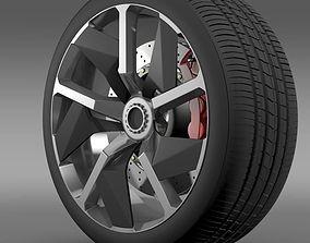 Lamborghini Aventador J wheel 3D