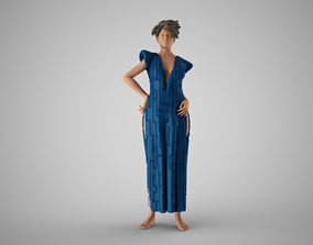 3D printable model Galactic Woman
