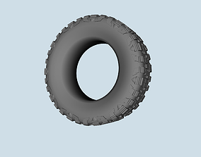 Nitto Mud Grappler Tire scale 1-10 3D printable model