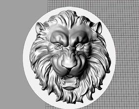 Cufflinks Lion 3D printable model