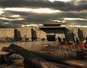 3D The ancient city