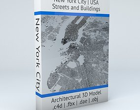 New York City 5 Boroughs Jersey Newark Streets and 3D 1