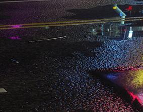 Rainy Road 3D