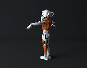 3D asset robotic exoskeleton