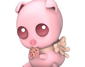 3D print model Cute Chibi Pig