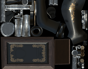 Sewing Machine 3D animated