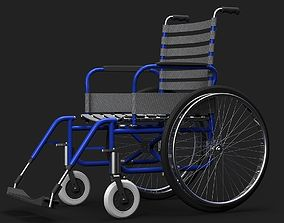 Wheelchair 3D Model disabled