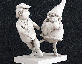 Santa Claus Tramp Christmas 3D printable model tramp