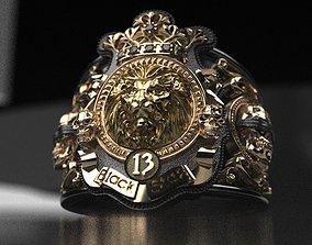 Timati leon ring - replica 3D print model