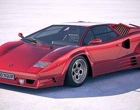Lamborghini Countach LP500 Anniversary 3D