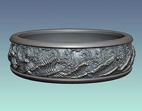 3D print model Ring Heavy Storm