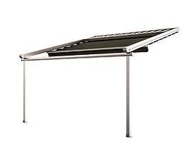 Motorized Pergola 5 nickel matte 3D model