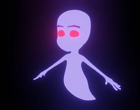 little ghost 3D asset