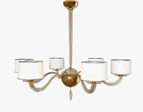 Chandelier Baker BBS08 3D model
