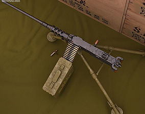 3D Browning M2