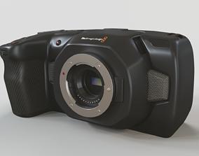 3D Blackmagic Pocket Cinema Camera