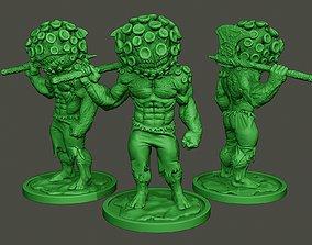 3D printable model Humanoid virus 0004