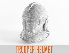 Star Trooper Wars Helmet Armor 3D model