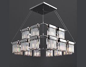 Chandelier Crystal Pendants 20 Loft-Concept 3D model