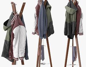 3D model hallway Hanny Coat stand