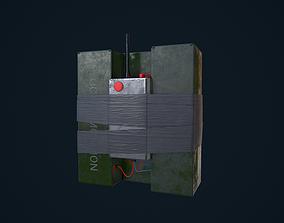 3D model C4 Explosive
