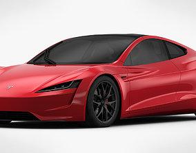 3D model Tesla Roadster 2020 Detailed Interior
