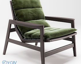 Poliform Ipanema armchair modern 3D model