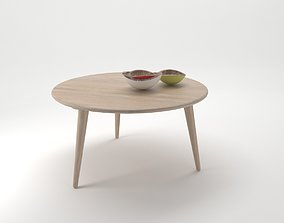 3D model Carl Hansen and Son Coffee Table