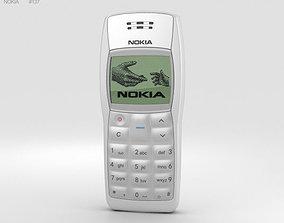 Nokia 1100 White 3D