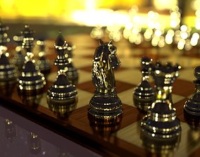 3D animated PBR Chess