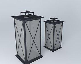 3D model Candle lanterns Maisons du monde