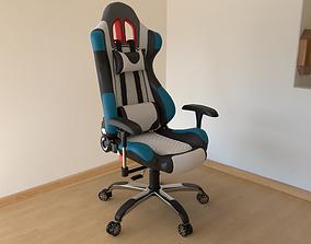Gamer Chair 3D model game-ready