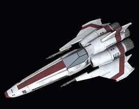 3D model realtime Viper Galactica