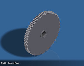 hobby 3D printable model 80-Tooth Spur Gear 03