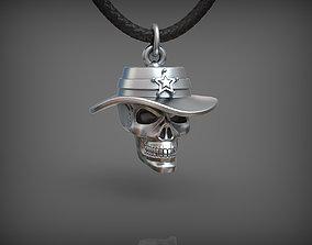 3D print model Pendant Skull 03