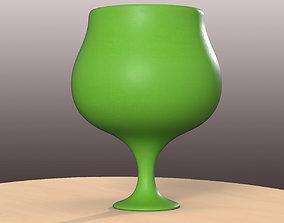 3D print model Pre-Hollowed Brandy Bottle 1 Plain