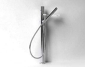 mixer 3D model 3080B 3380A Milano Bathtub Mixer