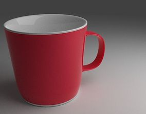 3D Coffee Cup household kitchenware