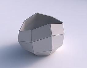 Bowl compressed 3 with huge plates 3D print model
