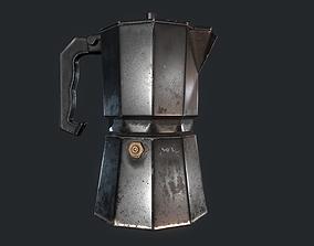 Geyser coffee maker 3D model