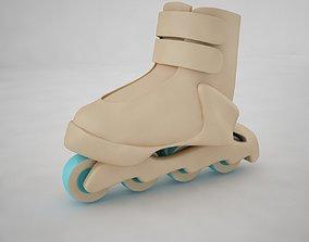 Inline Skate 3D model