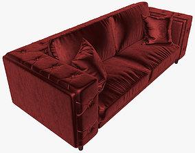 3D Alberta Salotti Belmondo sofa